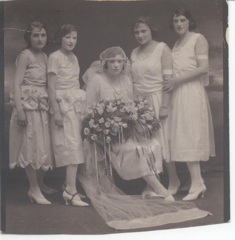 Gram's wedding photo