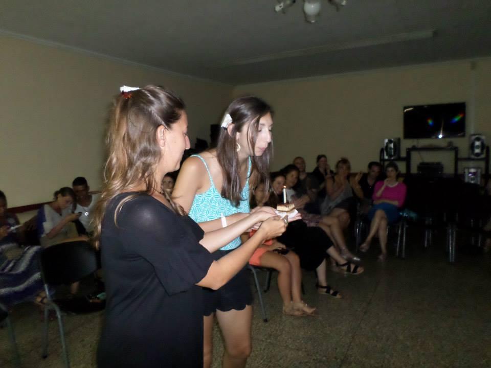 Cuba JCC singing HB to Lis