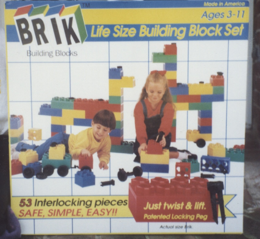 Brett on Brik Toy Box