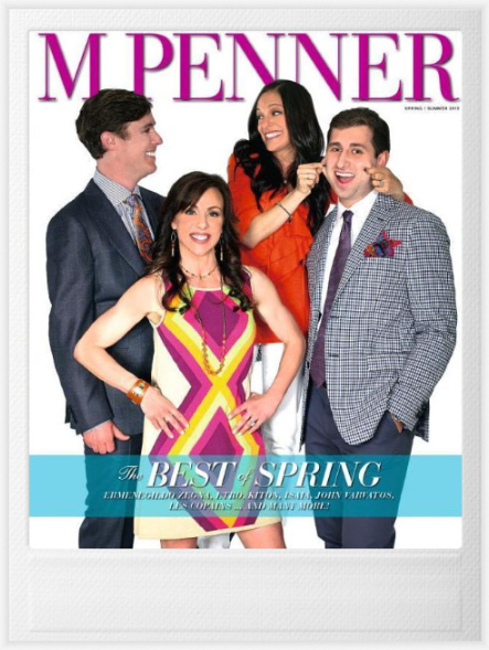 M Penner magazine cover