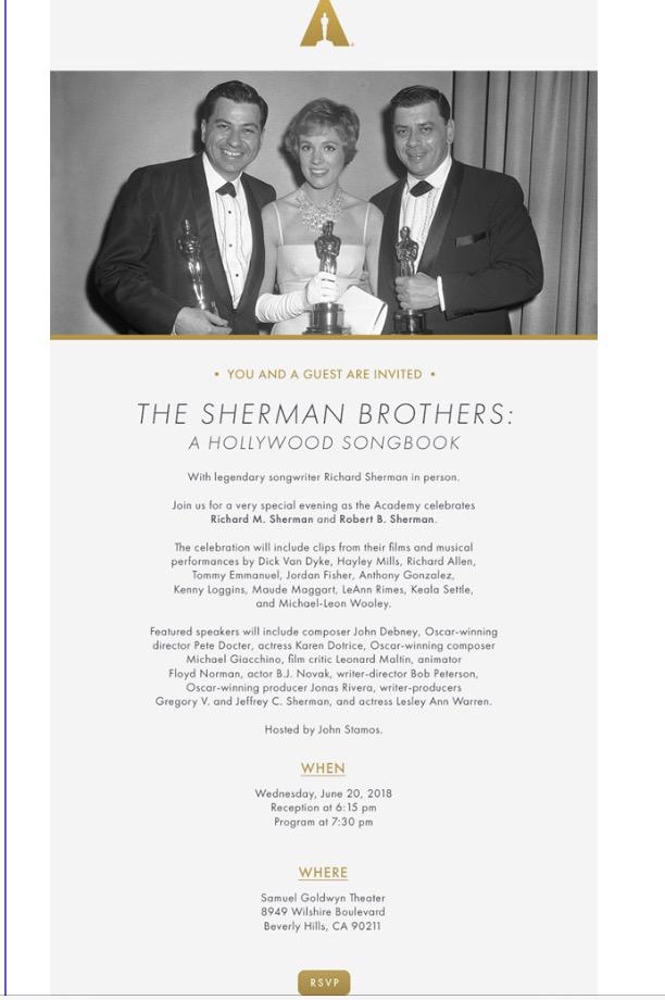 Sherman Invitation